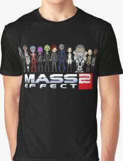 Mass Effect 2 Crew  ver.1 Graphic T-Shirt