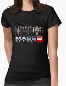 Mass Effect 2 Crew  ver.1 Womens Fitted T-Shirt