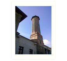 İnce minareli camii Art Print