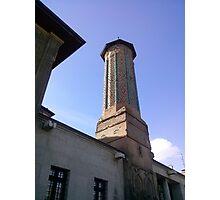 İnce minareli camii Photographic Print