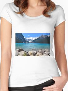 Lake Louise Women's Fitted Scoop T-Shirt