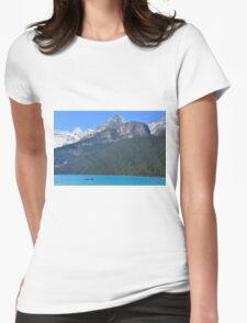 Lake Louise Womens Fitted T-Shirt