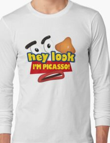 Hey Look I'm Picasso Toy Story Long Sleeve T-Shirt