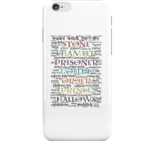 Harry Potter Typography iPhone Case/Skin