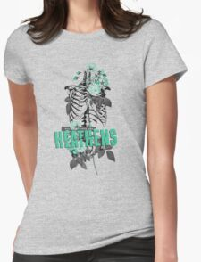 All My Friends Are Heathens Womens Fitted T-Shirt