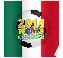 2014 World Champs Ball - Mexico Poster