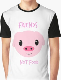 """""""Friends NOT Food"""" Graphic T-Shirt"""