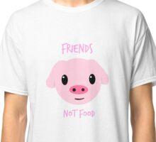 """Friends NOT Food"" Classic T-Shirt"