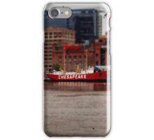 Inner harbor boat iPhone Case/Skin