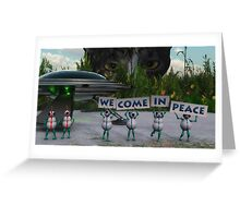 Are We Alone? Greeting Card