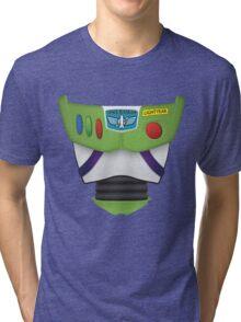 Buzz Lightyear Chest - Toy Story Tri-blend T-Shirt
