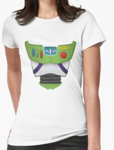 Buzz Lightyear Chest - Toy Story Womens Fitted T-Shirt