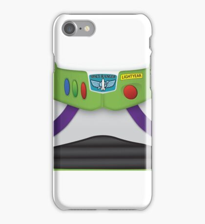 Buzz Lightyear Chest - Toy Story iPhone Case/Skin