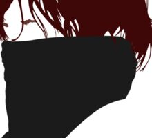 Daryl Dixon Silhouette Sticker