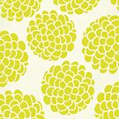 Minimal Grapes Blossoms by Pom Graphic Design
