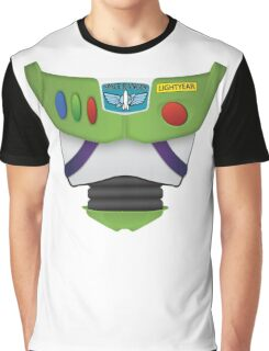 Buzz Lightyear Chest - Toy Story Graphic T-Shirt