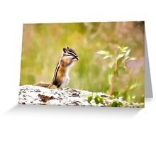 Little Chipper Greeting Card
