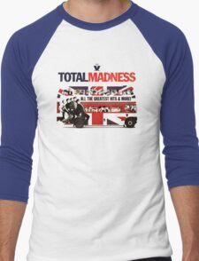 Total Madness Men's Baseball ¾ T-Shirt
