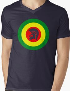 Trojan Mens V-Neck T-Shirt