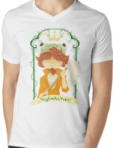 The Frog Prince Mens V-Neck T-Shirt