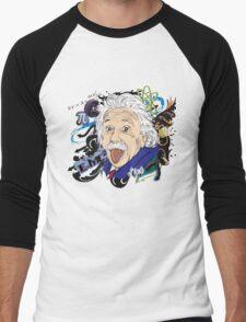 Einstein Men's Baseball ¾ T-Shirt