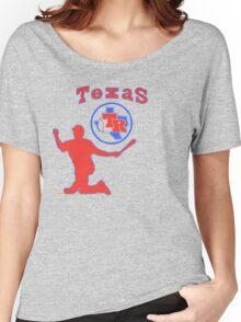 off-center beltre Women's Relaxed Fit T-Shirt