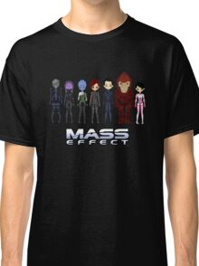 Mass Effect Cartoon - Jane Shepard Classic T-Shirt