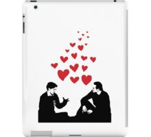 Cherik in the Field with Hearts iPad Case/Skin