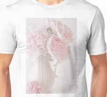 A Jug Of Soft Pink Peonies Unisex T-Shirt