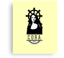 Can see your halo: Cora Canvas Print