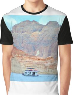 Lake Powell in Page, Arizona Graphic T-Shirt