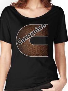 Cummins Rusted Metal Sheet  Women's Relaxed Fit T-Shirt