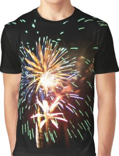4th of July Fireworks  Graphic T-Shirt