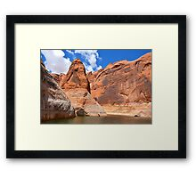 Lake Powell in Arizona, USA Framed Print