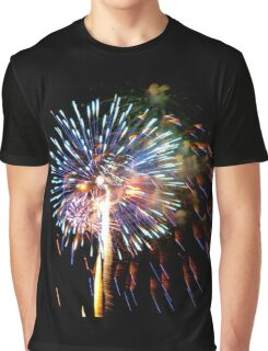July 4th Fireworks Graphic T-Shirt