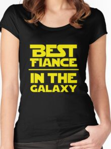 Best Fiance in the Galaxy Women's Fitted Scoop T-Shirt