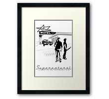 Winchester Motel  Framed Print