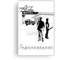 Winchester Motel  Canvas Print