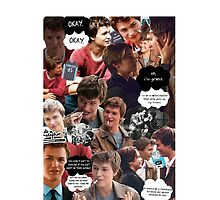 Augustus Waters The Fault In Our Stars Collage by ArielHope