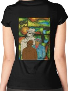 The Musician: Mind-Body-SOUL Women's Fitted Scoop T-Shirt