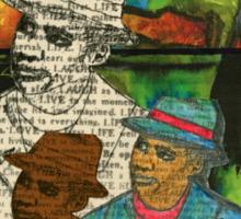 The Musician: Mind-Body-SOUL Sticker