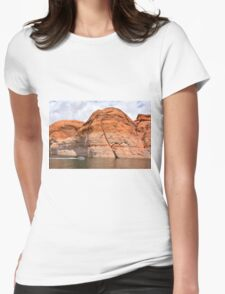 Lake Powell in Arizona, USA Womens Fitted T-Shirt