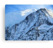 Awesome Mont Blanc Canvas Print