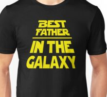 Best Father in the Galaxy - Title Crawl Unisex T-Shirt