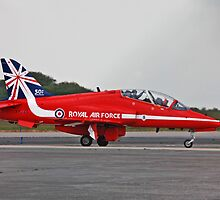 RAF red Arrow by Len  Pinner