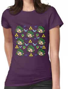 Saria's Pattern  Womens Fitted T-Shirt