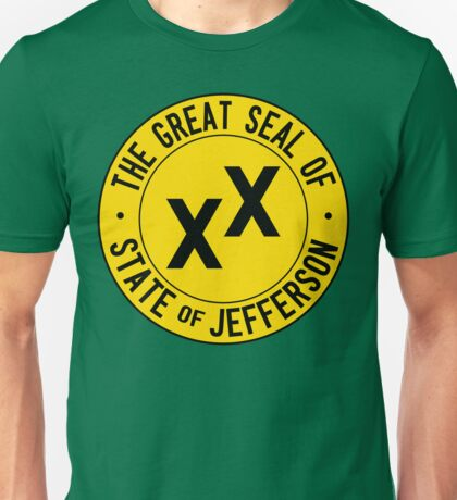 State of Jefferson Unisex T-Shirt