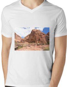 Rainbow Bridge Monument Park Mens V-Neck T-Shirt