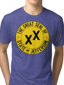 State of Jefferson Tri-blend T-Shirt