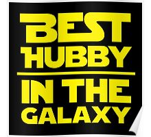 Best Hubby in the Galaxy Poster